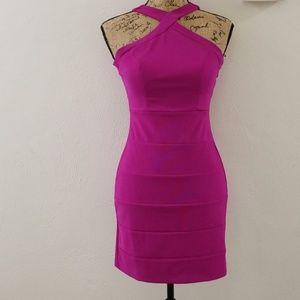 Dresses & Skirts - Fushia Bodycon Dress NWOT